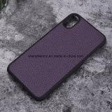 Móvil/caja de cuero verdaderos del teléfono celular para el iPhone 8