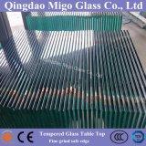 Moderne freie ausgeglichenes Glas-Tisch-Oberseite mit sicheren Rändern