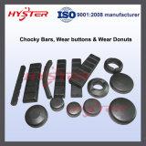 Barres bimétalliques de Chocky pour des positions Chockblock bimétallique de chargeuses-pelleteuses