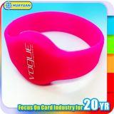 Braccialetto Ultralight del silicone di controllo di accesso della piscina MIFARE RFID