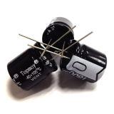 размер Tmce13 электролитического конденсатора горячих деталей 25V 105c 2017 алюминиевый миниатюрный