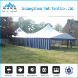 Single High Peak Outdoor Wedding Event Canopy Tente mixte avec Windows