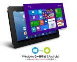 Tablette PC androïde &#160 de bits du faisceau X86 64 de quarte de tablette PC de systèmes duels de Windows ; CPU : Pouce W11 du journal Z8300 1.84GHz 9.7 de cerise d'Intel X5