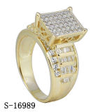 Latest Model Fashion Jewelry dia. moon ring Silver 925