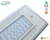 40W 세륨 & RoHS에 의하여 증명서를 주는 PIR 센서 통합 LED 태양 정원 또는 가로등