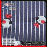 Ткань 100% джинсовой ткани печати хлопка 32*32 для платья