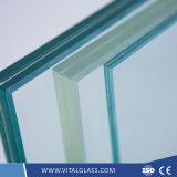 O baixo vidro de E/moderou vidro curvado da cerca/vidro de construção laminado segurança