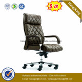快適なメタル・ベース高い背皮のオフィスの管理の椅子(HX-BC023)