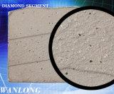 Ferramentas de pedra do corte por blocos do diamante, segmento do diamante para o granito e máquina