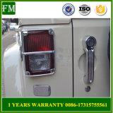 Wrangler 2007-2015 für Jeep Jk chromierte Endstück-Licht-Schutz-Aluminium