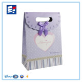 Bolso de papel portable blanco del regalo para el empaquetado de la ropa