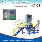 Lijn van de Was van de Machine van het Recycling van het Huisdier van de Fles van het afval de Verpletterende