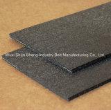 Cinta transportadora de fieltro gris de alta calidad resistente al calor