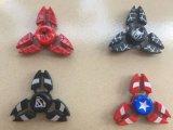 Zinc Aluminio Spiderman Superman Fidget Spinner Mano Dedo Finger Spinner