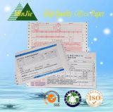 Type d'auto-adhésif sans carbone Mutil-Ply Impression facture avec balayage Barcode