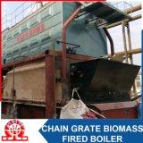 Scaldacqua infornato biomassa orizzontale industriale del Doppio-Timpano di Szl4.2-1.0MPa