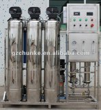 Máquina industrial 500-2000lph del RO de Purication del agua del acero inoxidable