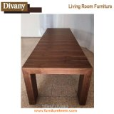 Antique Dining Room Design Wood Material Restaurante Conjuntos de mesa