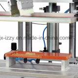 Máquina de impressão semiautomática da tela da base lisa para o saco de plástico