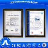 Goede LEIDENE van het Glas van de Uniformiteit P2.5 SMD2121 Transparante Vertoning