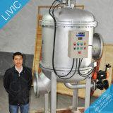 Filtro de lavagem automático Ss304 do aço inoxidável