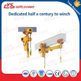 Alzamiento eléctrico del cable del alzamiento de cadena con la carretilla y el interruptor del límite superior