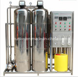 Máquina industrial 500-1000lph de Purication del agua del acero inoxidable
