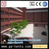 Escuela estructura permanente Carpa garaje cromática con 1100 g / m² PVDF para 24cars