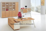 Mesa de aço moderna do gerente da mesa de escritório do pé
