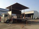 Vrachtwagen van het Stadium van het Aanplakbord van het openlucht Mobiele LEIDENE van de Reclame Scherm van de Vertoning de Grote