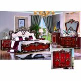 Кровать спальни для классицистических комплектов мебели спальни (W816)