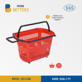 Euro Shopping Trolley Cart Supermarket Hand Baskets and Mall Grocery Cart