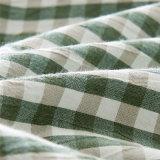 主寝室のための3部分の綿の双生児のベッドカバーセット