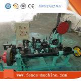 Niedrigster Preis-doppelter Strang-Stacheldraht-Ineinander greifen-Maschine