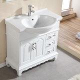 Governo di stanza da bagno moderno fisso di legno solido di stile