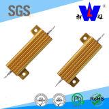Rx24 (RX600) Weerstand van de Macht van het Aluminium van de Weerstand van het Aluminium Golded Wirewound 100W 250W