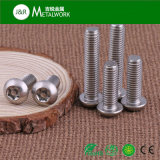 Ss304 Ss316 en acier inoxydable Torx Socket Button Head / Countersunk Head / Pan Head Vis de sécurité avec axe central