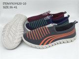 最新のデザイン女性の注入の運動靴の偶然靴(FXJY620-10)