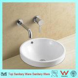 Тазик мытья керамического тазика искусствоа Cupc ванной комнаты американского круглый