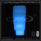 Cadeiras do cubo da mobília do diodo emissor de luz com iluminação da iluminação
