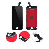 Вспомогательное оборудование экрана LCD черни/сотового телефона для iPhone 5c завершает
