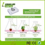 A planta cheia do diodo emissor de luz do espetro 300W -1200W cresce clara para cresce a barraca