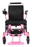 Ультра светлый алюминий складывая электрическую кресло-коляску с батареей лития