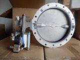 Válvula de borboleta pneumática de Sicoma SD300mm para o cimento, pó, carvão