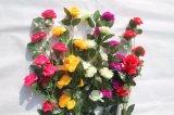 Fiori di seta di falsificazione del Peony dei fiori artificiali per la decorazione domestica di cerimonia nuziale