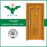 Porte simple directe de PVC de qualité de porte de mélamine d'usine