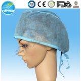 Гарантированная самая низкая устранимая хирургическая Nonwoven Bouffant крышка