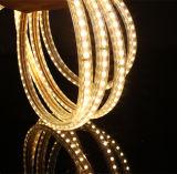 El sitio ETL decorativo SMD3528 calienta la tira blanca del LED