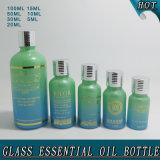 5ml, 10ml, 15ml, 20ml, 30ml, 50ml, wesentliches Öl-Flaschen-Preis des grünen Glas-100ml