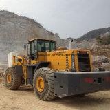 27 колеса тонн затяжелителя грузоподъемника для блока поднимаясь использующ на Ce карьера